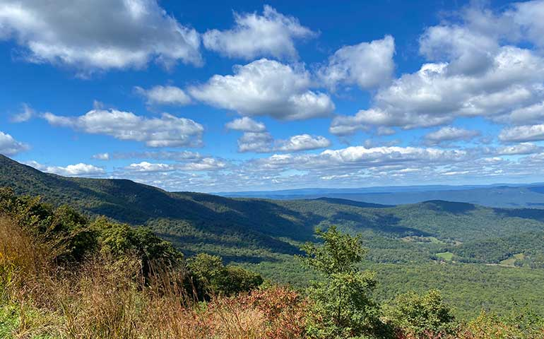 best fall vacations in the US photo of Shenandoah national park