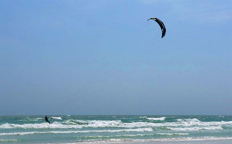 kiteboarding in siesta key florida