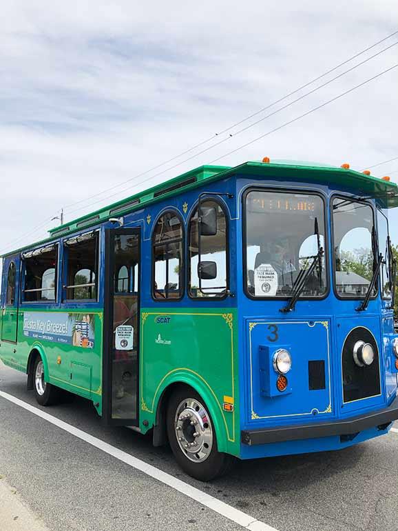 siesta key trolley