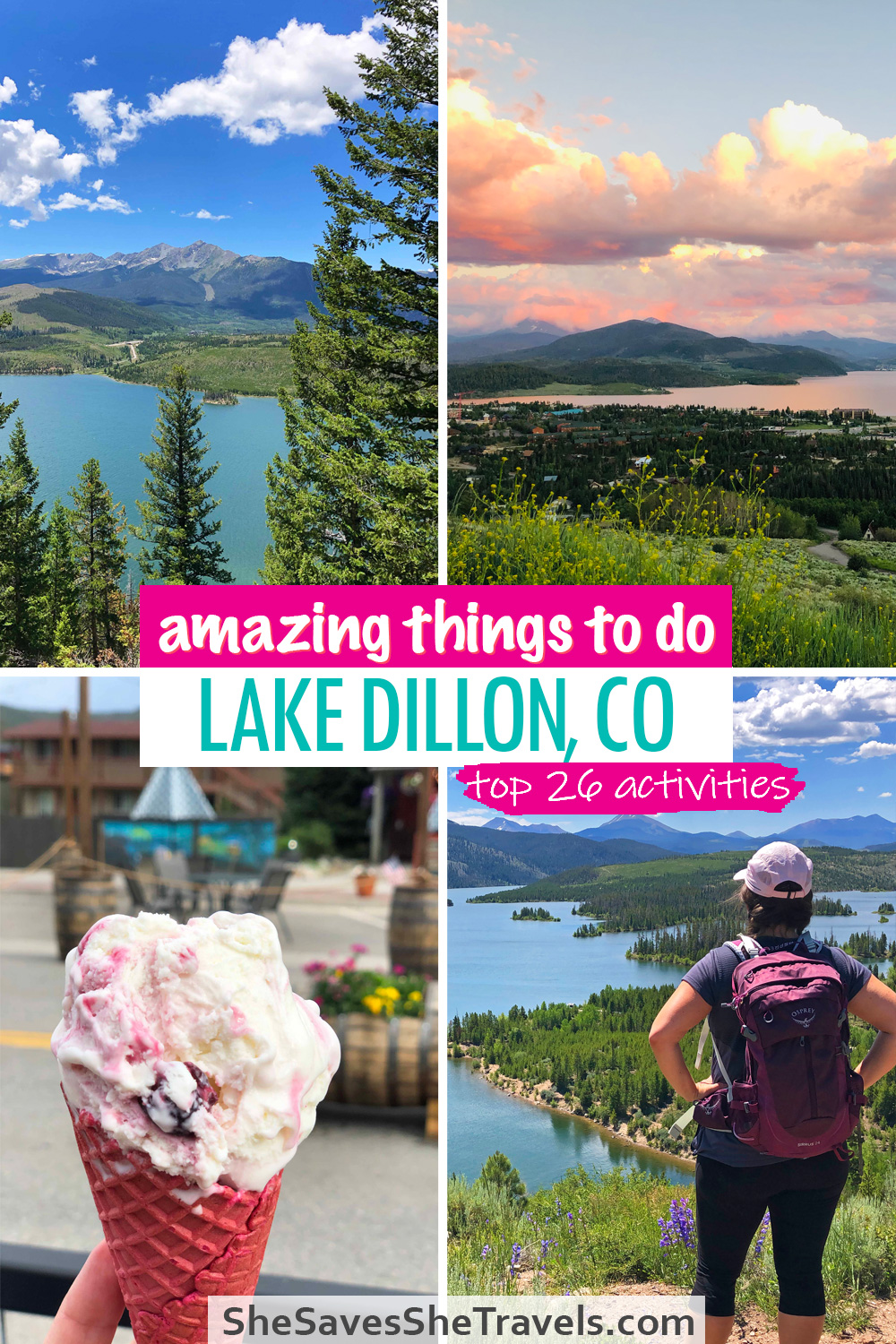 amazing things to do Lake Dillon, CO