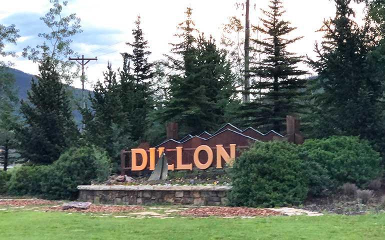 Dillon Colorado sign