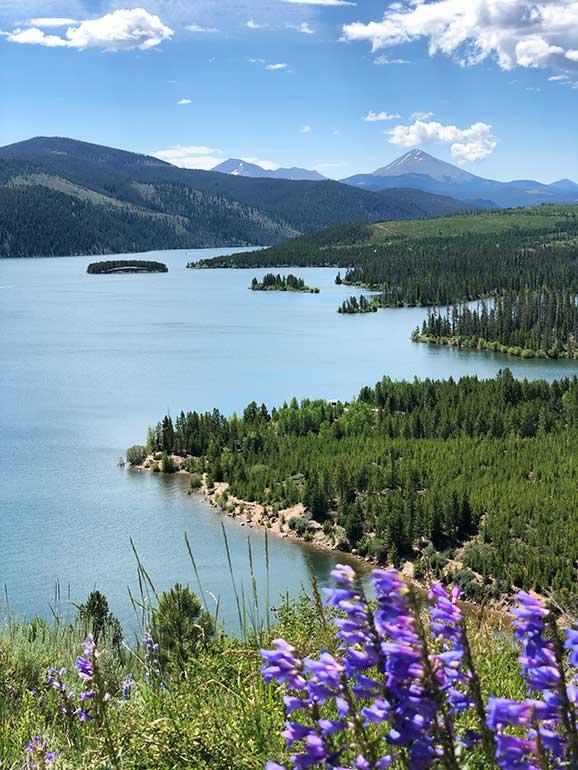 dillon lake hike