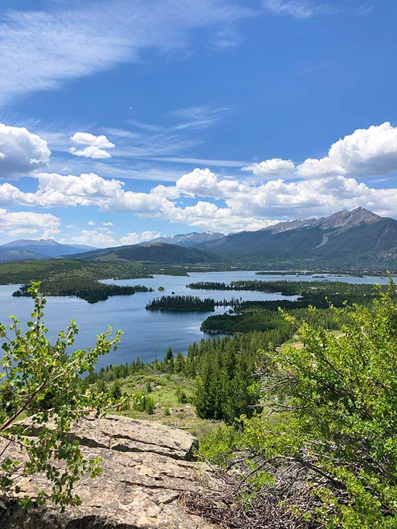 dillon lake lookout point colorado hikes