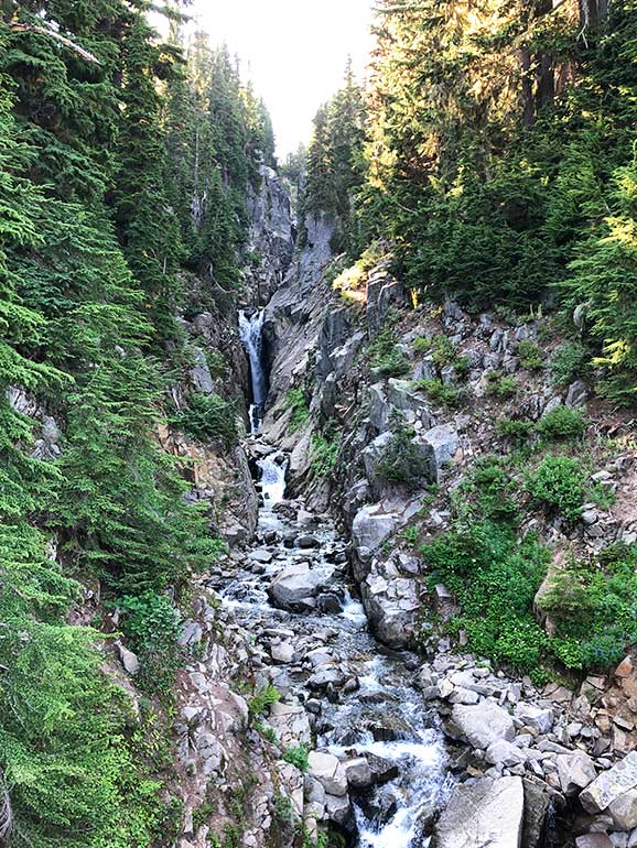Edith gorge falls