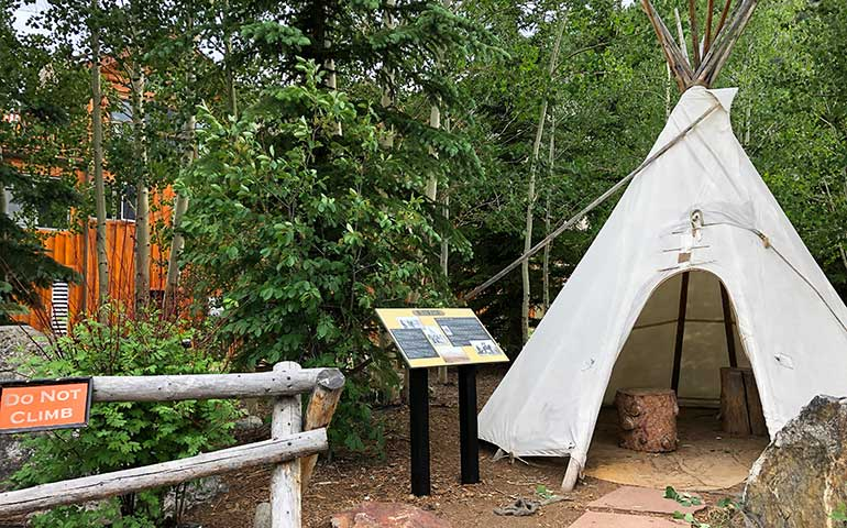 frisco museum teepee and park