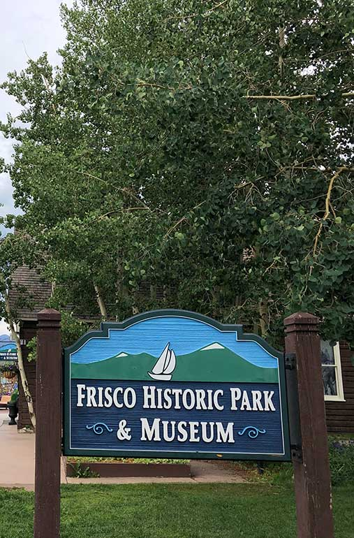 frisco historic park and museum