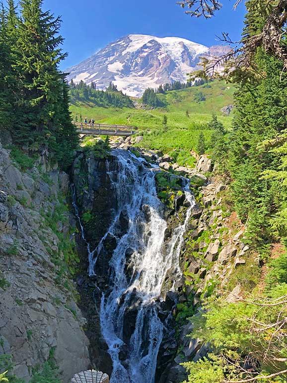 myrtle falls mount rainier