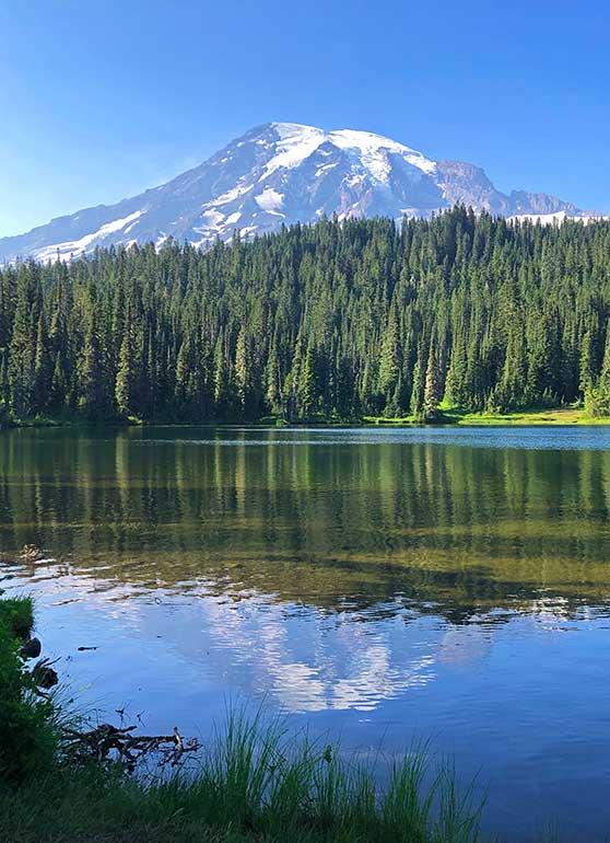 reflection lakes Washington