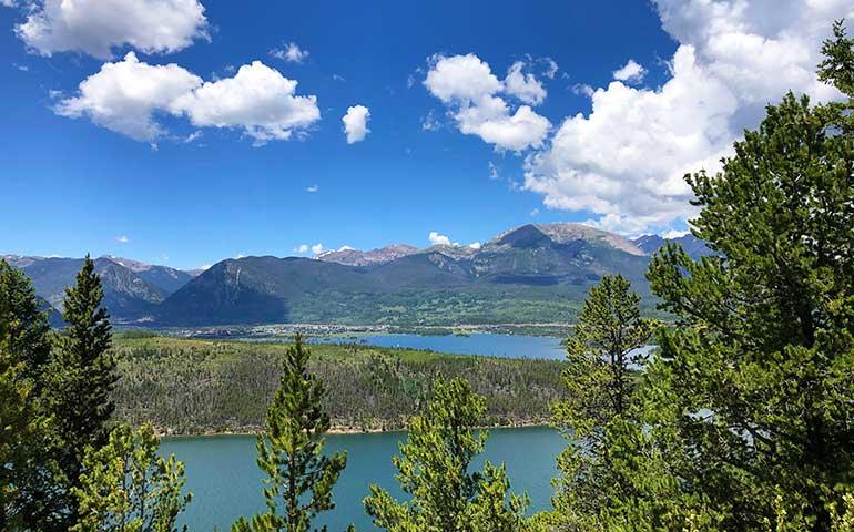 sapphire hike Lake Dillon views