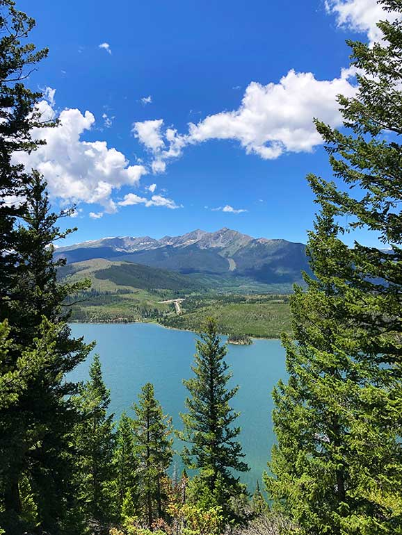 sapphire point overlook Lake Dillon CO