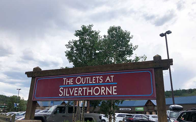 the outlets at Silverthorne