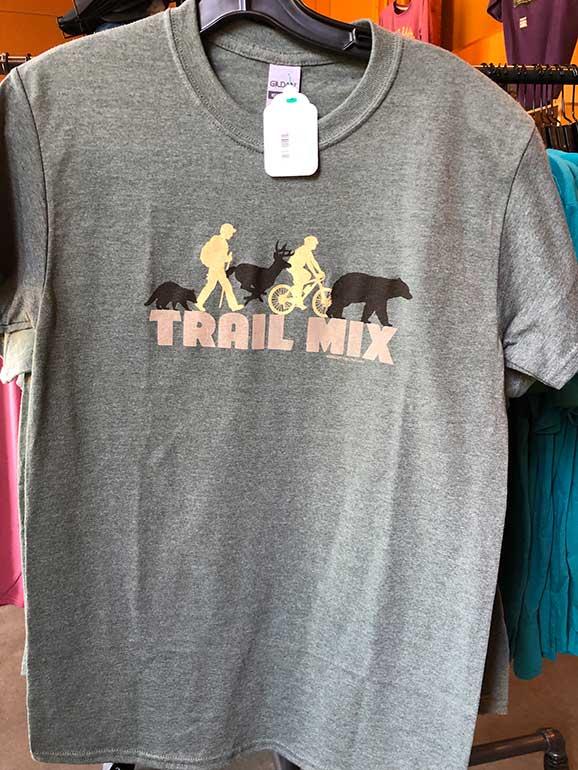 trail mix shirt