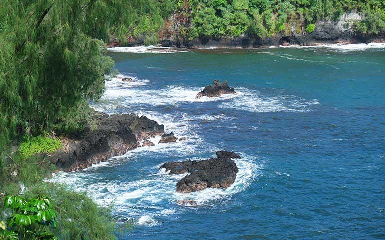 Onomea Bay Big Island Hawaii