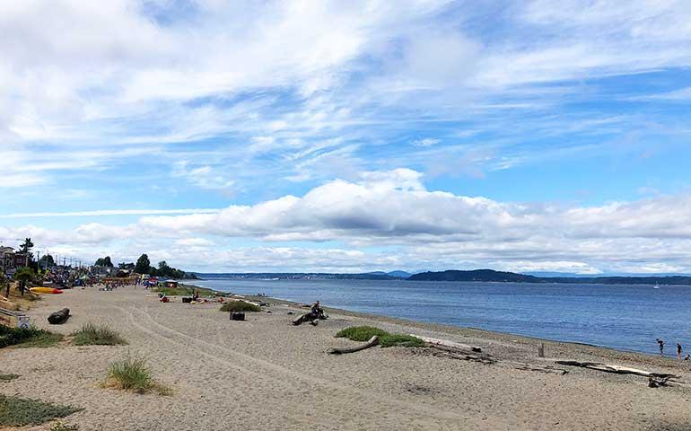 Alki Beach views