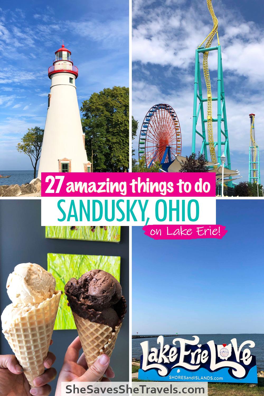 27 amazing things to do Sandusky Ohio on Lake Erie