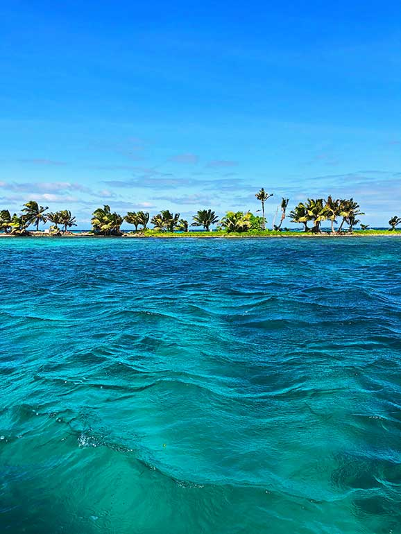 most beautiful turquoise water