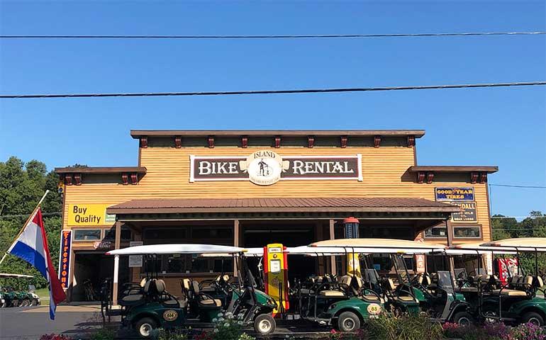 rent bikes put-in-bay