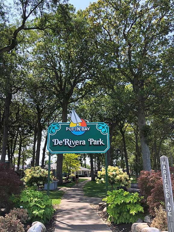 DeRivera Park Put in Bay