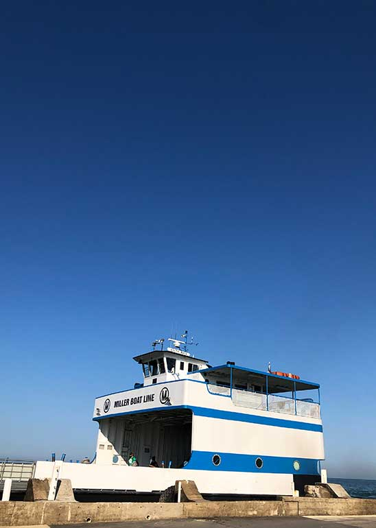 ferries to put in bay