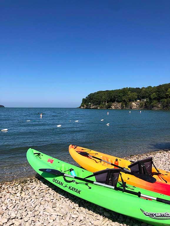 kayaking put in bay