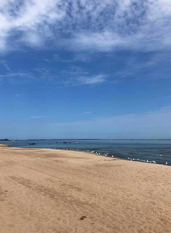 Sandusky ohio beach