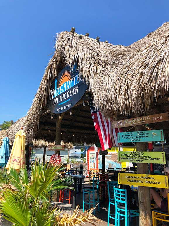 restaurants at put in bay margaritas on the rock