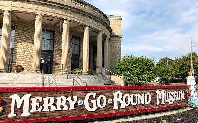 merry-go-round-museum in Downtown Sandusky