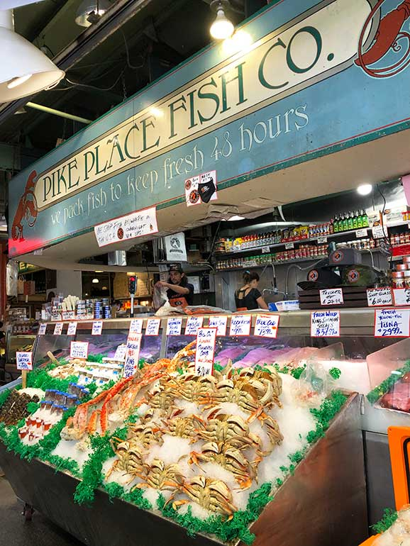 pike place fish company downtown