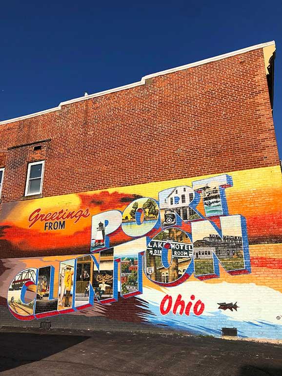 Port Clinton mural