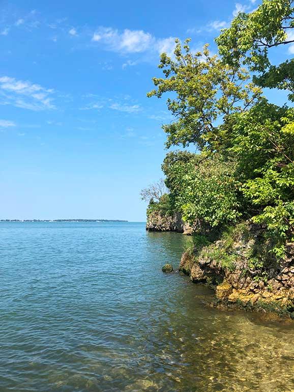 views of Lake Erie
