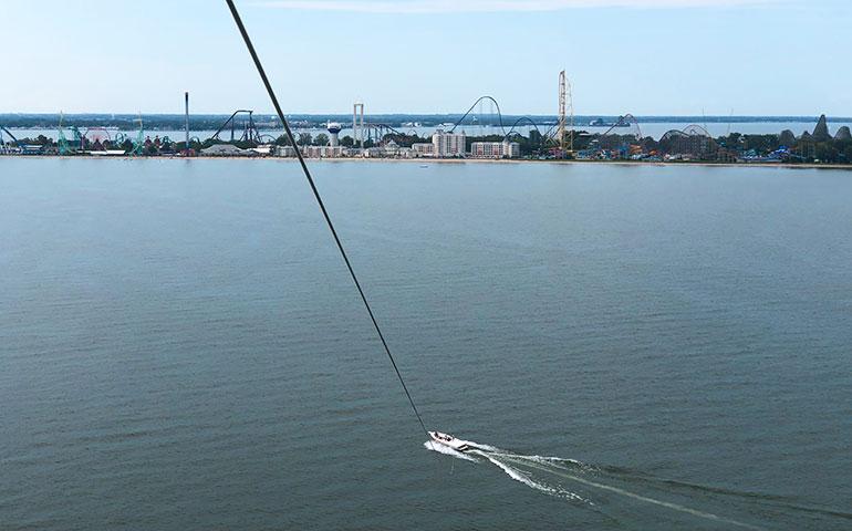 things to do Sandusky ohio parasailing