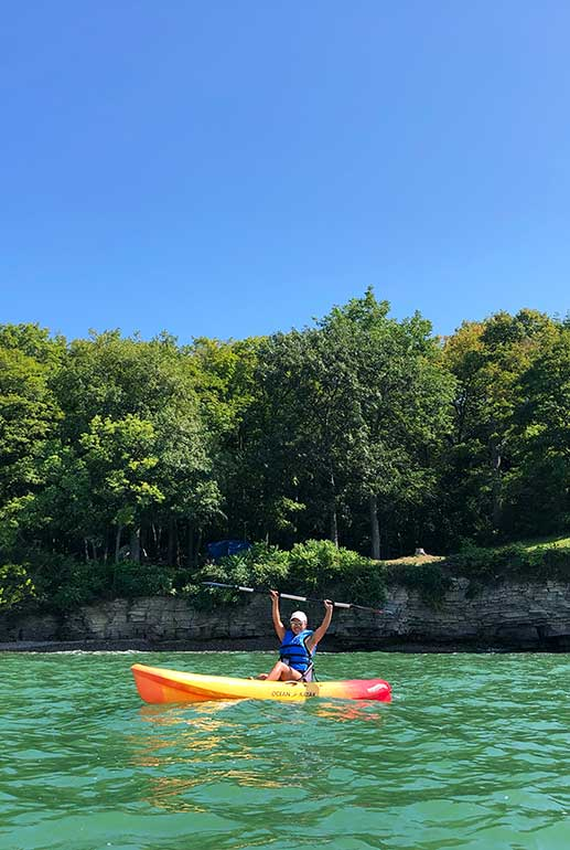 kayaking put-in-bay